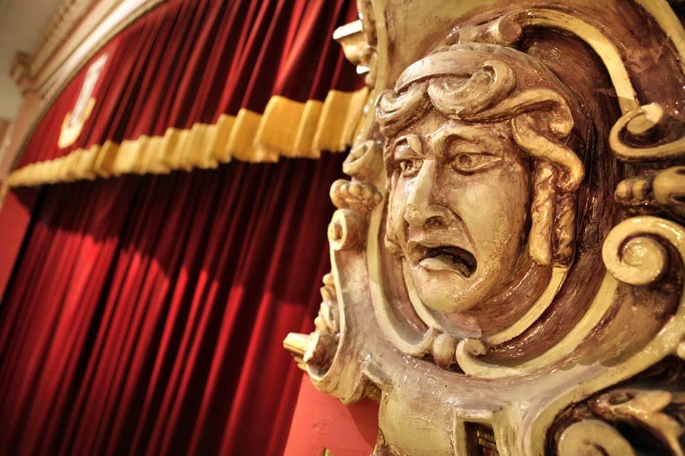 Representatiu rostre de l'antic teatre de La Unió