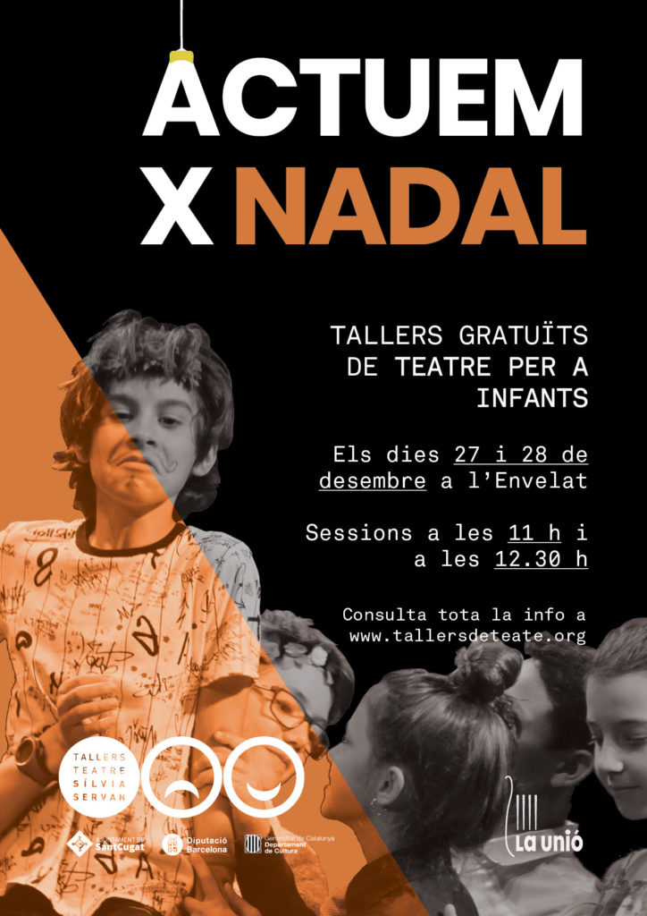 """Cartell """"Actuem x nadal"""""""